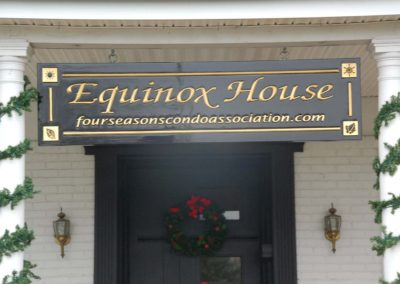 Equinox Carved HDU Painted Sign – Michigan
